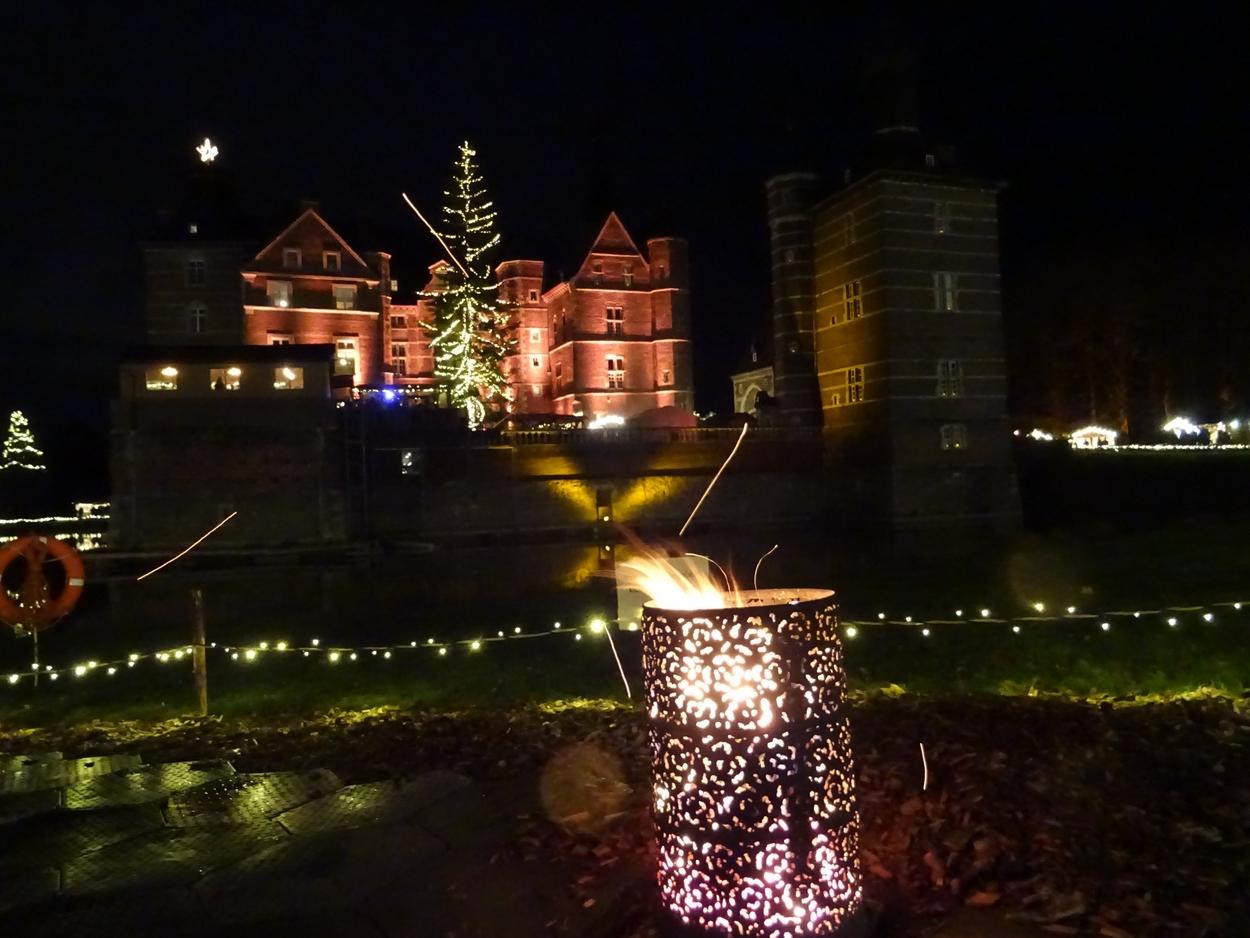 Weihnachtsmarkt Schloss Merode.Letzte Veranstaltung Der Interessengemeinschaft Hetzerath Im Jahr